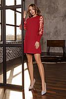 Женское платье Бордовый