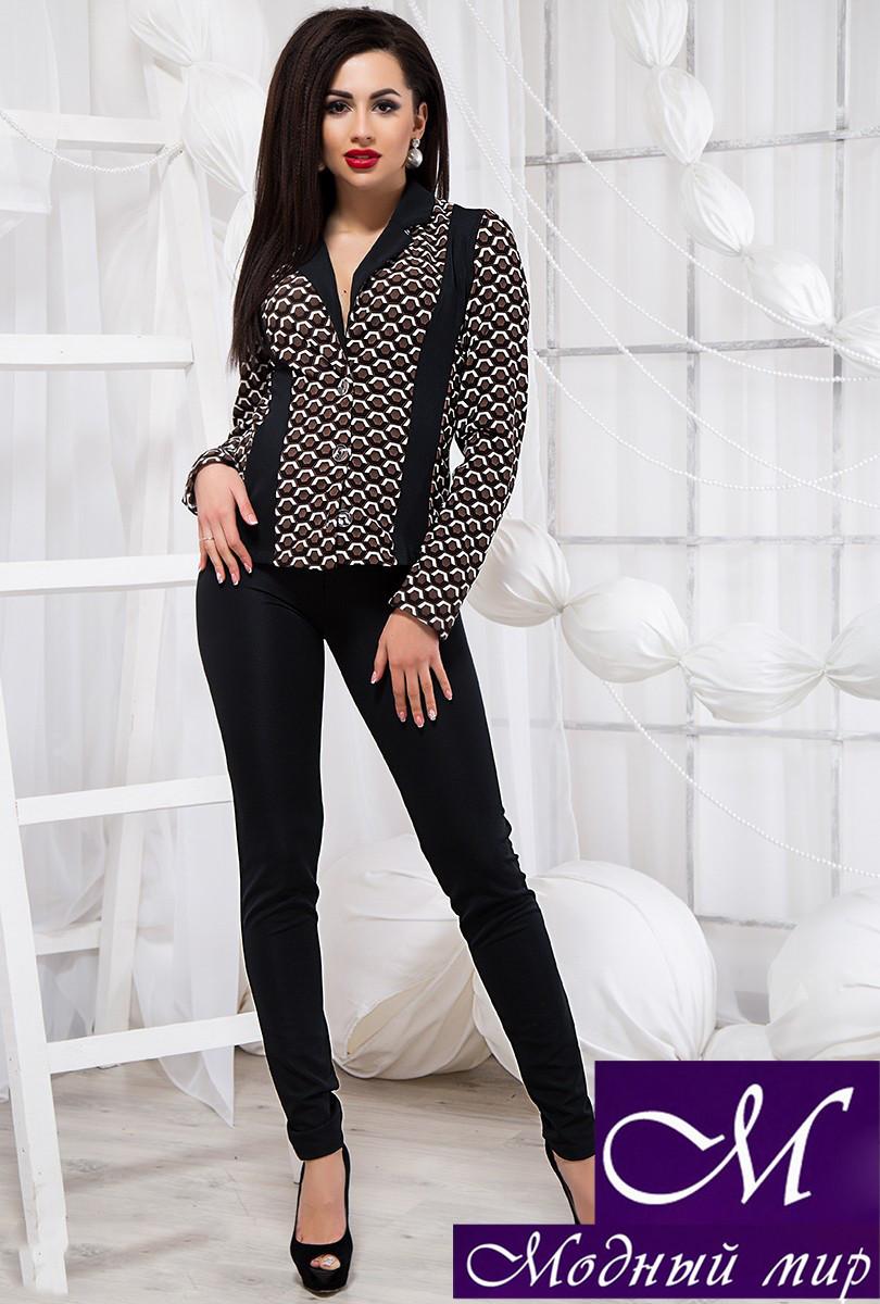 Стильный брючный костюм блуза + штаны (р. S, M, L) арт. 20-407