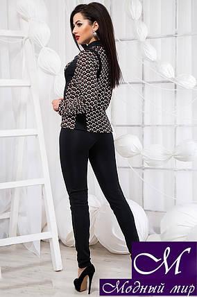 Стильный брючный костюм блуза + штаны (р. S, M, L) арт. 20-407, фото 2