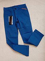 Стильные брюки для мальчика 12 лет, цвет синий