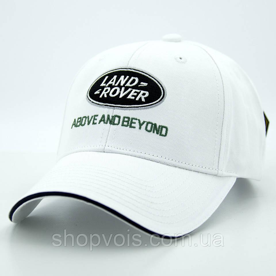 Кепка Land Rover А191 Белая