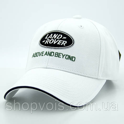 Кепка Land Rover А191 Белая, фото 2
