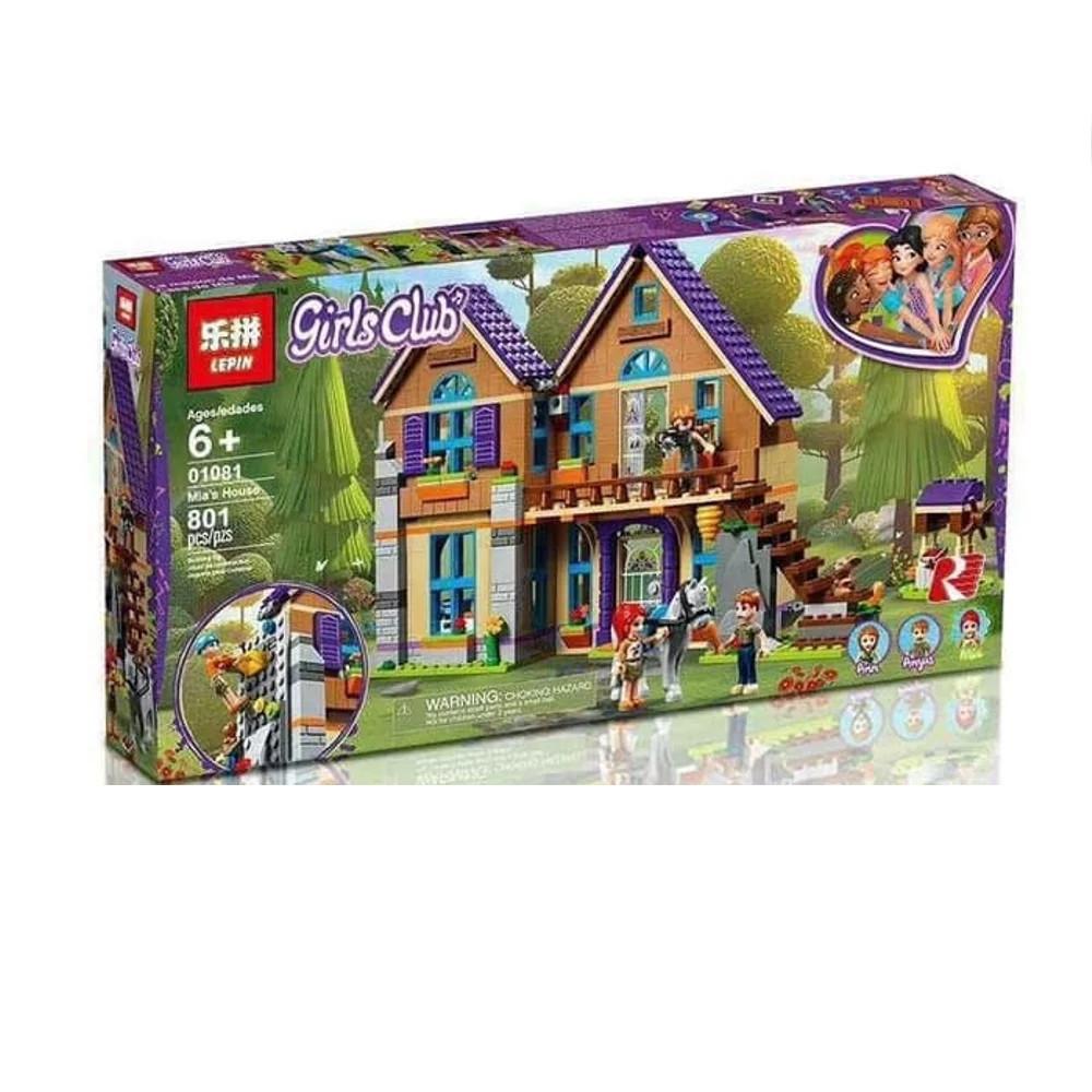 "Конструктор Lepin 01081 ""Дом Мии"" (аналог Lego Friends 41369), 801 дет"