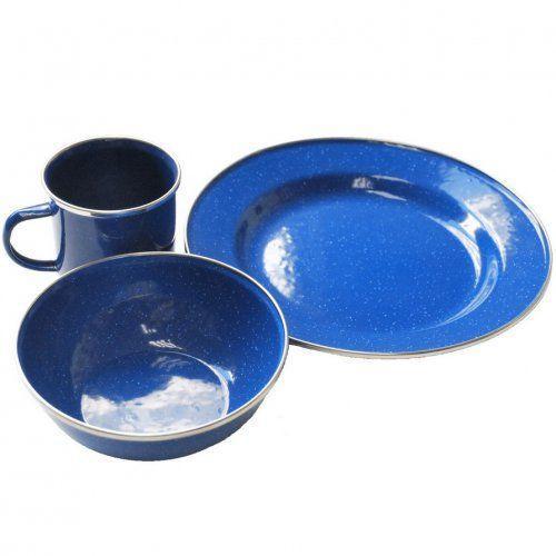 Набор эмалированной посуды Tramp. Набор посуды