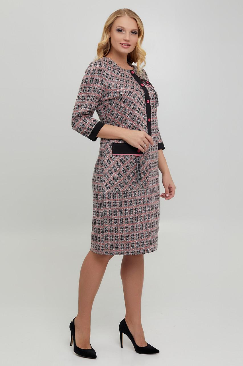 Нарядна трикотажна сукня