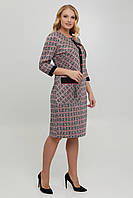 Нарядна трикотажна сукня, фото 1