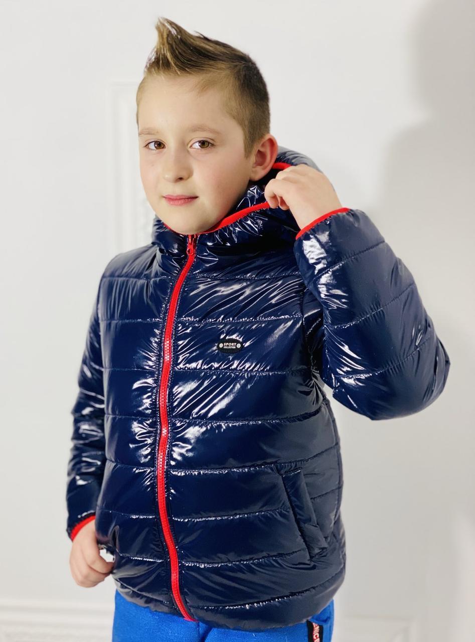 """Куртка демісезонна для хлопчика """"СПОРТ"""" МОНКЛЕР р. 98-104-110-116"""