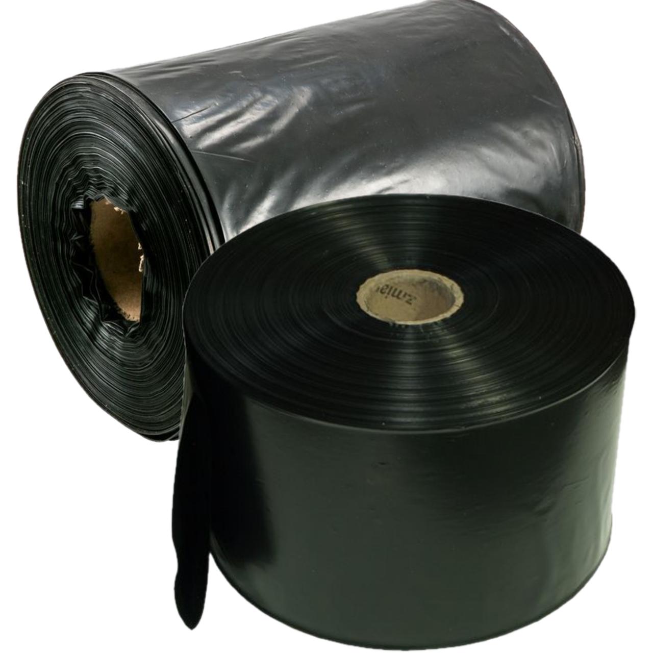 Рукав для рассады 120 мм. х 500 м. полиэтиленовый черный
