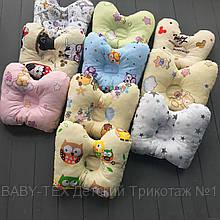 Детская ортопедическая подушка Baby-Tex 22 х 26 см Бабочка