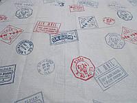 Ткань для пошива постельного белья бязь Соло Штамп, фото 1