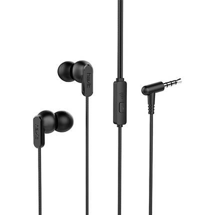 Навушники Havit HV-E73p, black, фото 2