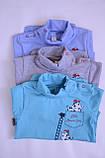 Бодік для новонароджених BD-19-31 *Технобой* (колір ментол. Розмір 80), фото 9