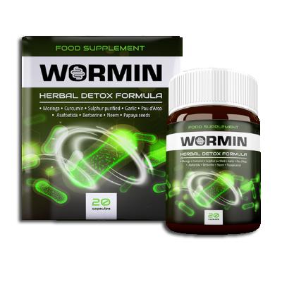 Wormin (Вормин) - капсули від паразитів