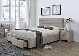 Ліжко KAYLEON 160 бежевий Halmar