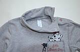 Бодик для новорождённых BD-19-31 *Технобой* (цвет серый. Размер 80), фото 8