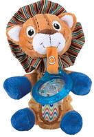 Мягкая игрушка Nuby Лев с держателем для пустышки