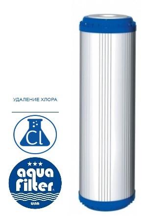 Картридж с гранулированным углем, KDF Aquafilter FCCBKDF2