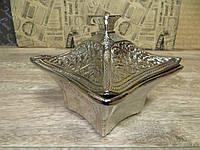 Лукумница, цукорниця турецька. срібло
