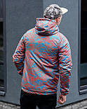 😜  Куртка- Мужская Куртка Ричстон сине-красная, фото 4