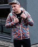 😜  Куртка- Мужская Куртка Ричстон сине-красная, фото 5
