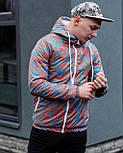 😜  Куртка- Мужская Куртка Ричстон сине-красная, фото 7