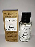 TESTER женский Lacoste Pour Femme Elixir  60 мл