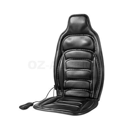 Массажная накидка на кресло вибрационная JB-616B черная