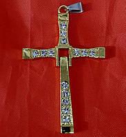Модные кресты Торетто 6 см оптом. Бижутерия оптом РРР. 159