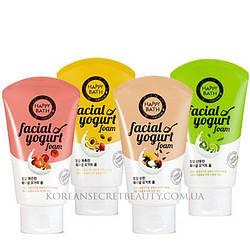 Йогуртовая пенка для умывания HAPPY BATH Facial Yogurt foam