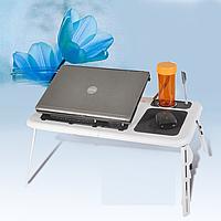 Портативный складной столик для ноутбука с вентиляцией E-Table