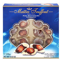 Шоколадные конфеты (ракушки) Maitre Truffout feine Meeresfruchte, 250г (Австрия)