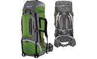 Рюкзак туристичний Mountain 65 (зеленый / серый), фото 1