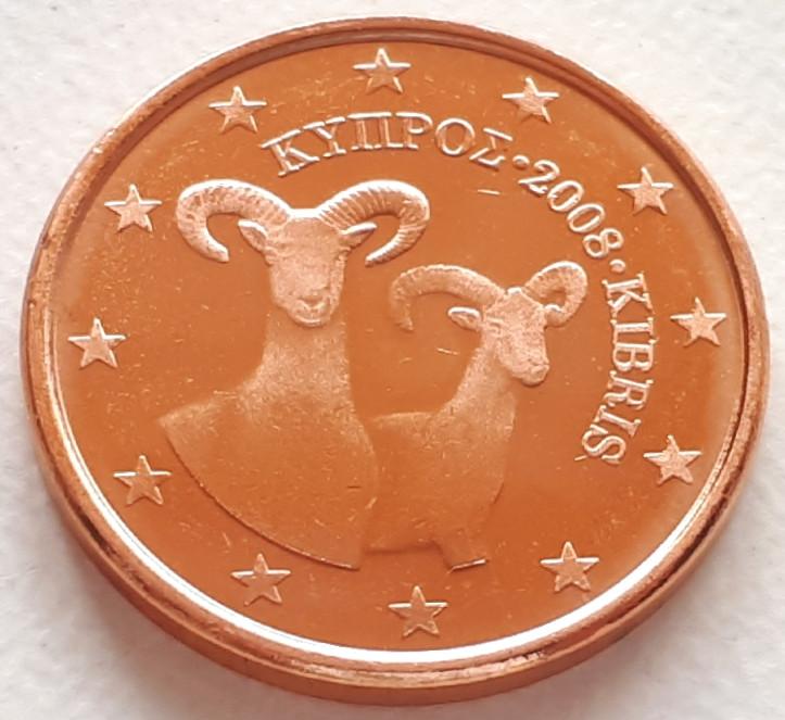 Кипр 1 евроцент 2008