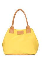 Желтая коттоновая сумка Navy, фото 1
