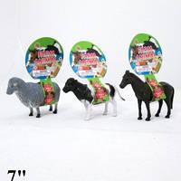 """Домашние животные Гонконг HT9928EIC резин.звук, 7"""", 3в., лист /120/ (HT9928EIC)"""