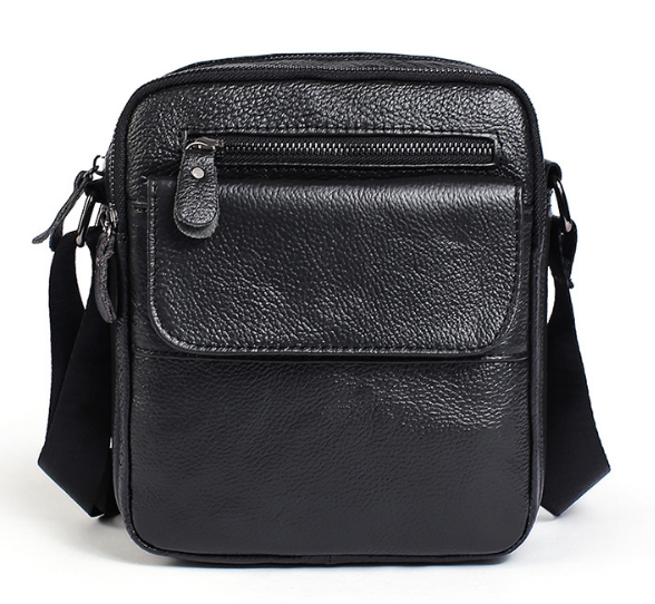 Сумка мужская Vintage черного цвета 14609