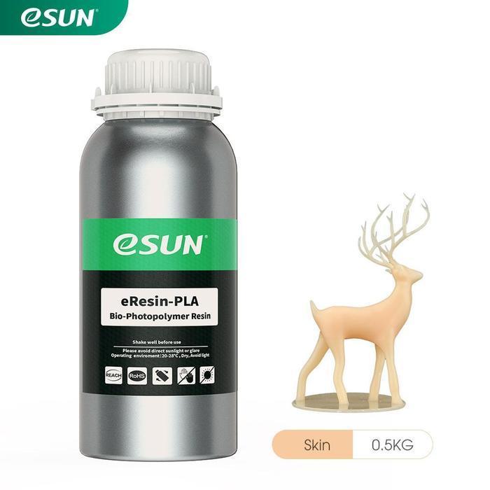 Фотополімерна смола eSUN Bio-Based Resin PLA для LCD 3D принтерів 1 кг