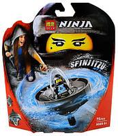 """Конструктор Bela 10793 Ninja (реплика Lego Ninjago 70634) """"Мастер спин-джитсу Ния"""", 75 дет, фото 1"""