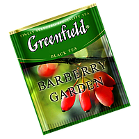 """Чай  черный в пактиках Greenfield """"Barberry Garden"""" 100шт Барбарис"""