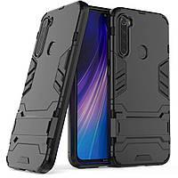 Чехол Protective Armor для Xiaomi Redmi Note 8 Черный