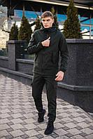 Костюм Softshell Мужской хаки демисезонный Intruder.Куртка мужская, штаны утепленные + ПОДАРОК