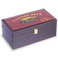 Русское лото настольная игра с деревянными бочонками в коробке для взрослых и детей Zelart Коричневый (P90)