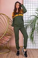 Женский спортивный турецкий костюм. Отличное качество! НОРМА 42-46 (3расцв), фото 1