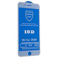Cтекло 10D для iPhone 7 Plus - white