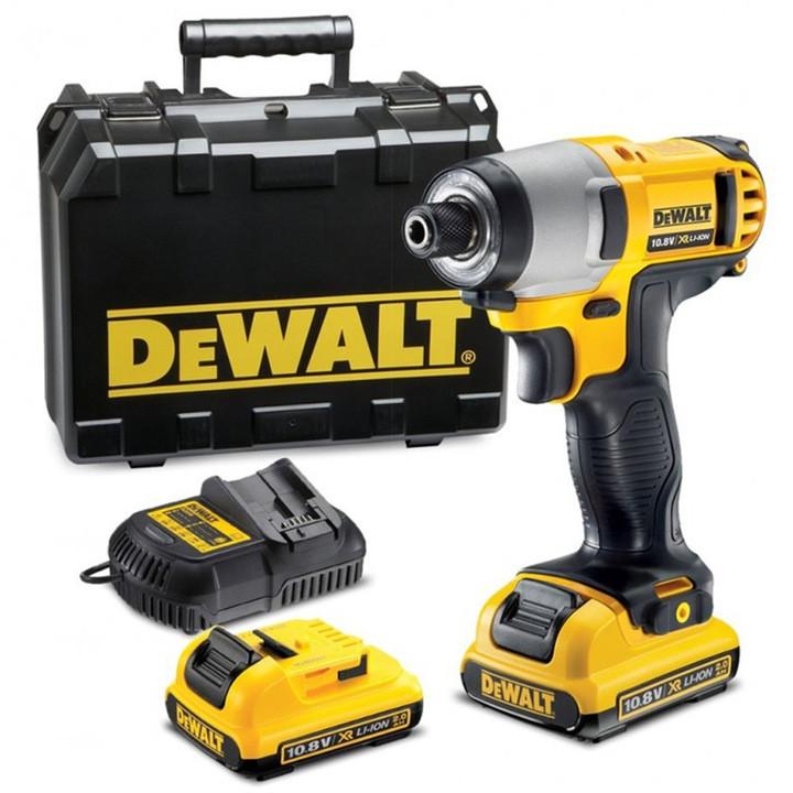 Аккумуляторный ударный гайковерт Dewalt DCF815D2