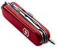 Надежный cкладной армейский нож Victorinox Midnite Minichamp 06386 красный, фото 2