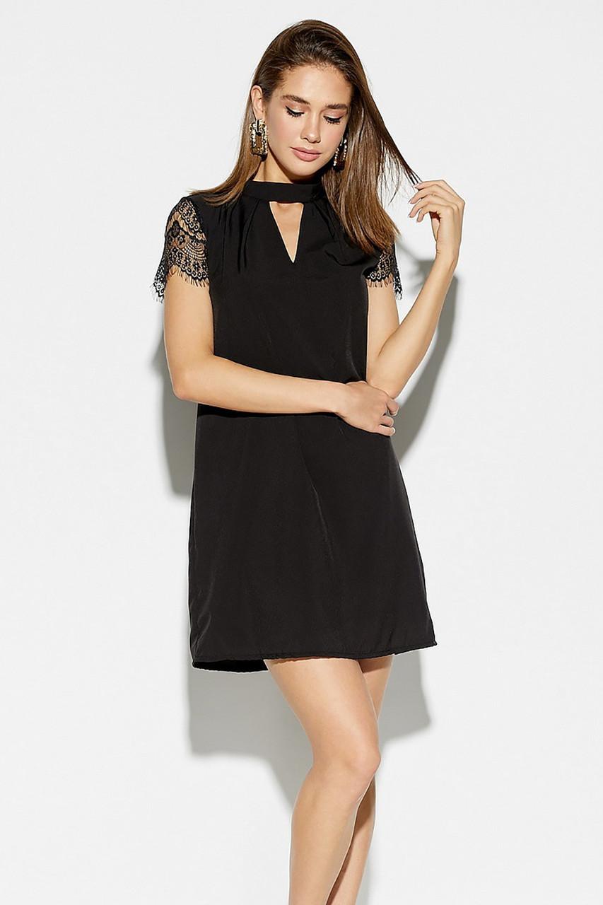 S, M / Романтичне чорне жіноче плаття Dolche