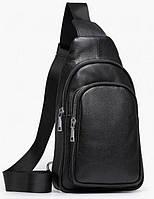 Рюкзак мужской Vintage 14623 кожаный Черный, фото 1