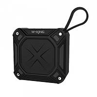 Bluetooth колонка W-King S6 IPX7 FM, фото 1