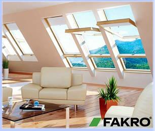 Мансардні вікна Fakro